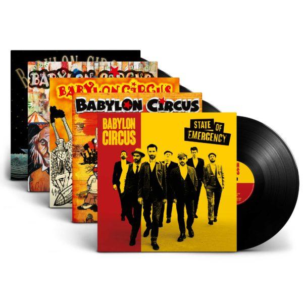 Pack vinyles Babylon Circus
